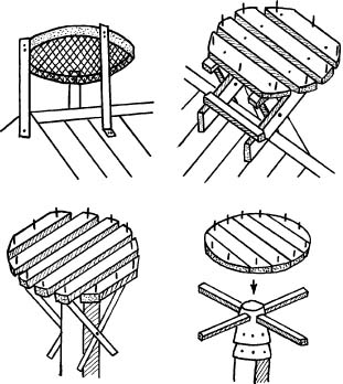 Как сделать гнездо аиста из веток 533