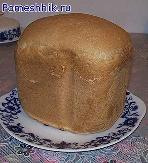 И вот он готовый хлебушек