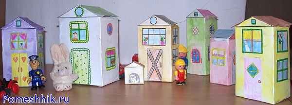 Большие игрушки из картона своими руками
