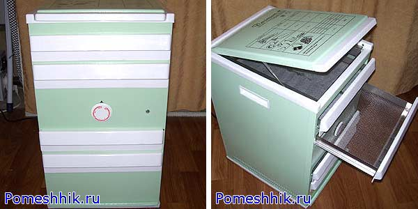"сушильный электрошкаф с терморегулятором ""Дачник-4"""