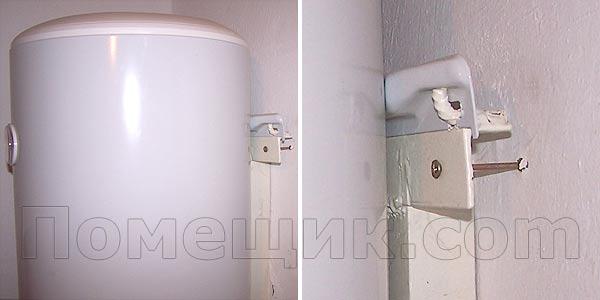 Крепление для водонагревателя своими руками 12