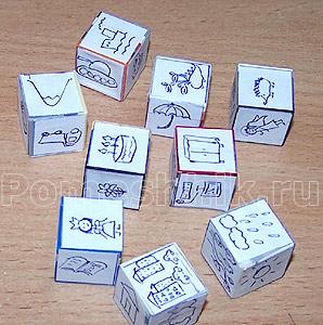 Кубики историй своими руками распечатать 80