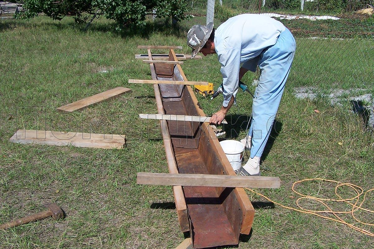 Как сделать желоб для бетона своими 340