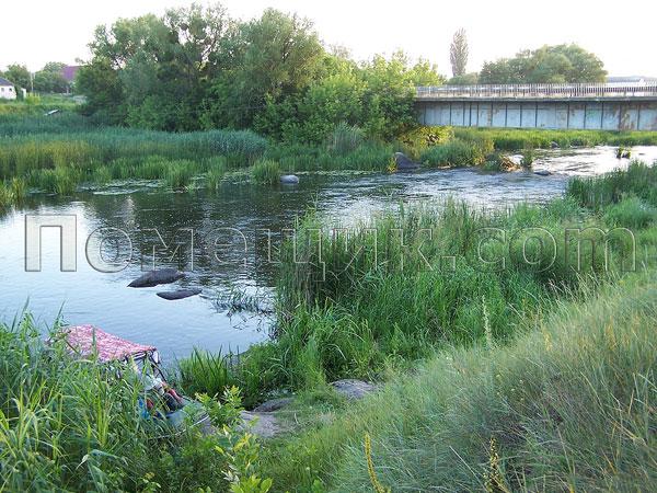 Мост сразу за Дыбенской ГЭС