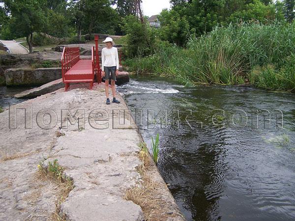 Мост через шлюзы в Богуславе